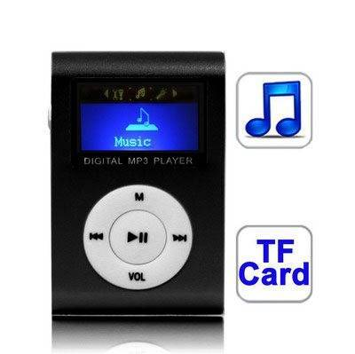 24hshop MP3-afspiller med LCD-skærm