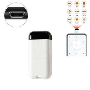 24hshop IR Fjernkontrol Mobiltelefon Micro-usb