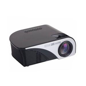 "24hshop Projektor 1080P 1200 Lumen - 4"" Display"