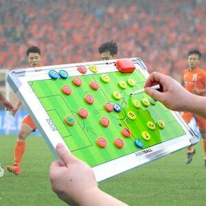 24hshop Magnetisk Taktiktavle Fodbold