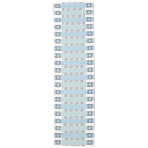 RugVista Tradition - Blå / Grøn  tæppe 70x250 Moderne, Løber Tæppe
