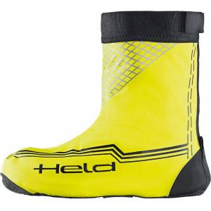 Held Boot Skin Regn Over støvler kort Sort Gul S
