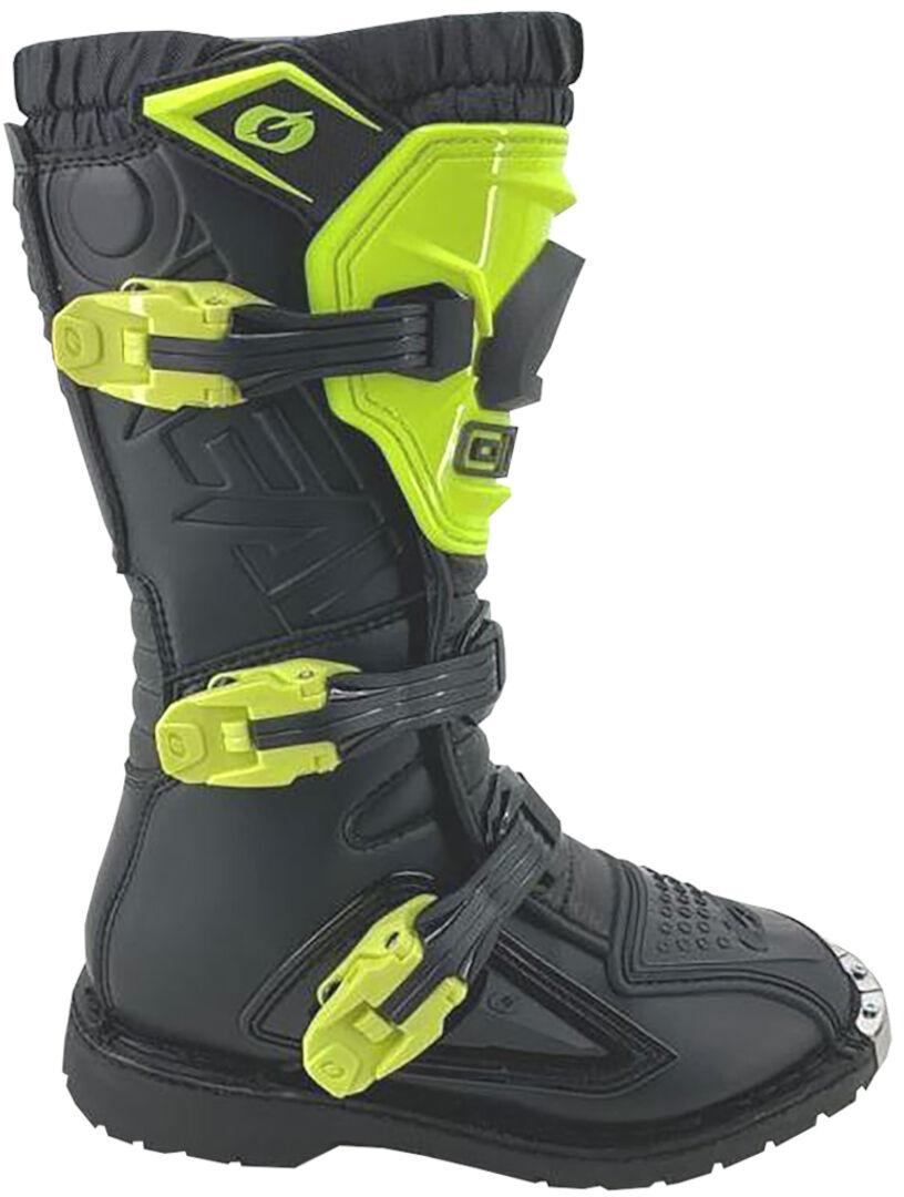 Oneal Rider Neon Yellow Ungdom Motocross Støvler