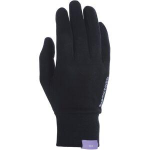 Oxford Deluxe Silky Handsker Sort L XL