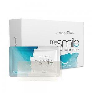 Eco Masters mysmile tandblegning 28 Strips - Få Hvide Tænder Med Hurtig Tandblegning hjemme