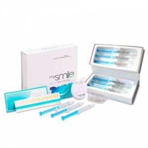 Eco Masters mysmile Kombipakke - Naturlige Tandblegningsprodukter - Inkluderer Eco Masters MySmile Tandblegnings Kit & Gels - ShytoBuy