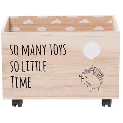 Bloomingville Mini Opbevaringskasse - Lystræ - Babymøbler - Array
