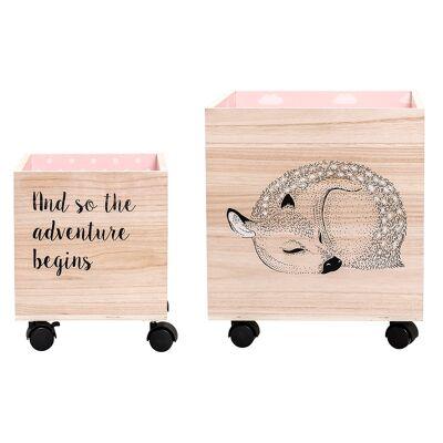 Bloomingville Mini Børnetilbehør - Rosa - Babymøbler - Array