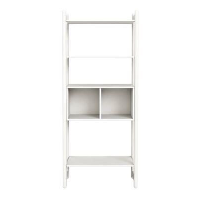 FLEXA Shelfie Maxi Reol m/bogkasse - Hvid - Babymøbler - Array