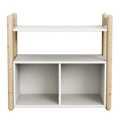 FLEXA Shelfie Mini Reol m/bogkasse - Natur - Babymøbler - Array