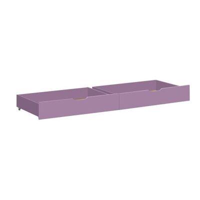 Hoppekids Ida-Marie Sengeskuffe på hjul - Lavendel - Babymøbler - Array