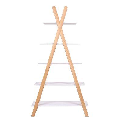 Woood - Tipi Bogreol - Hvid Fyrretræ - Babymøbler - Array