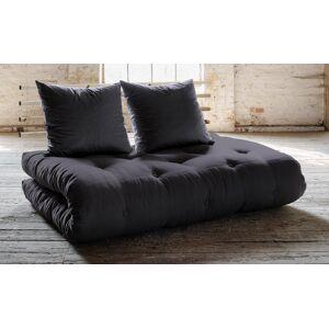Shin Sano Futon Sofa, Mørkegrå/Natur