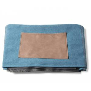LaForma Cover til Kos Puf - Mørk blå