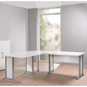 Prima Hjørneskrivebord - Hvid
