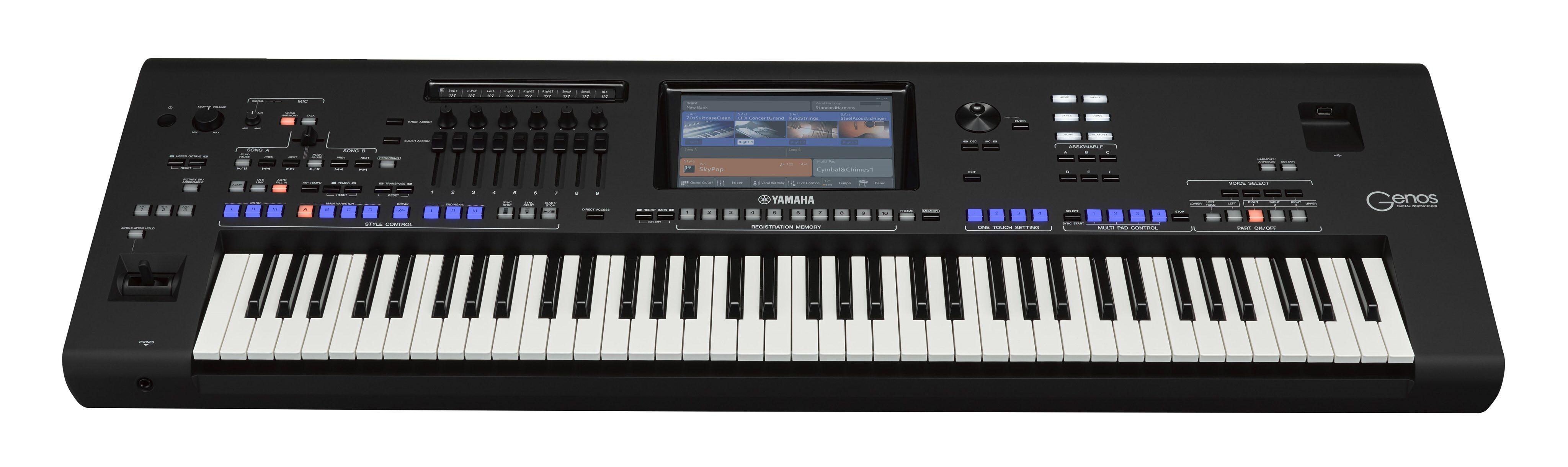 Yamaha Genos 76 Workstation
