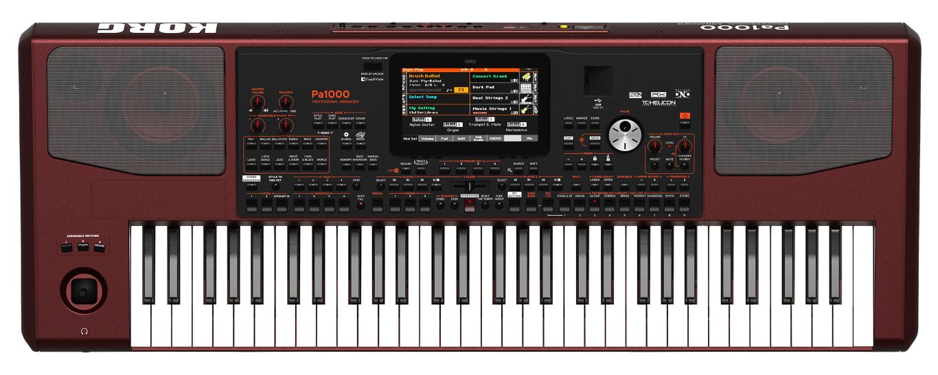Korg Pa-1000 Keyboard - Tilbud