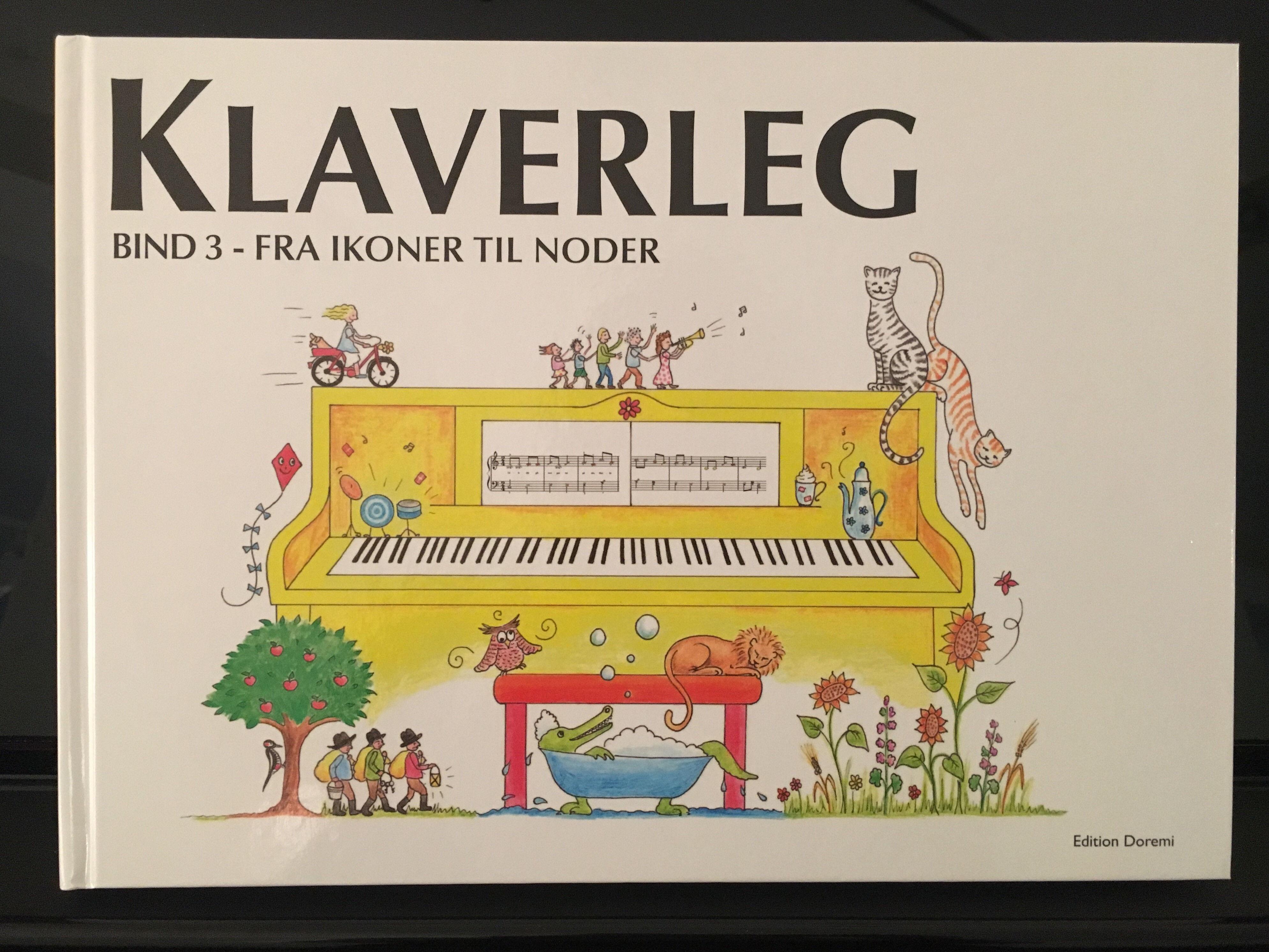 Juhl-Sørensen Klaverleg - Fra Ikoner Til Noder