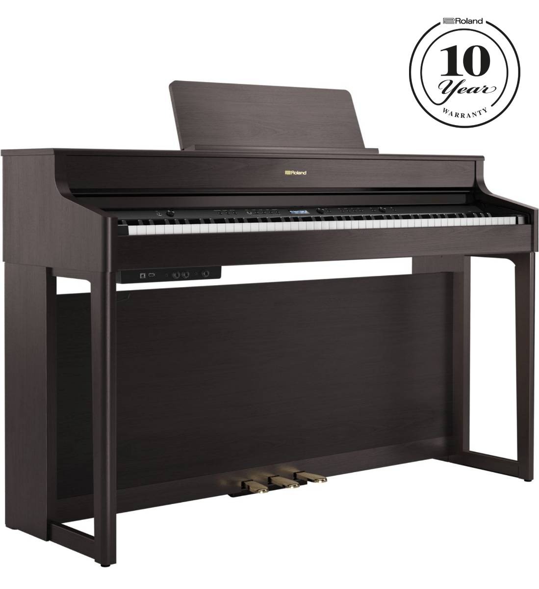 Roland Hp-702 Rosentræ Digital Piano