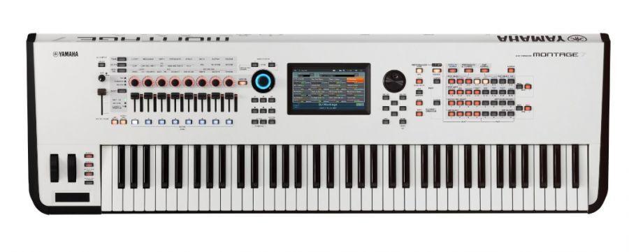 Yamaha Montage 7 Synthesizer Hvid
