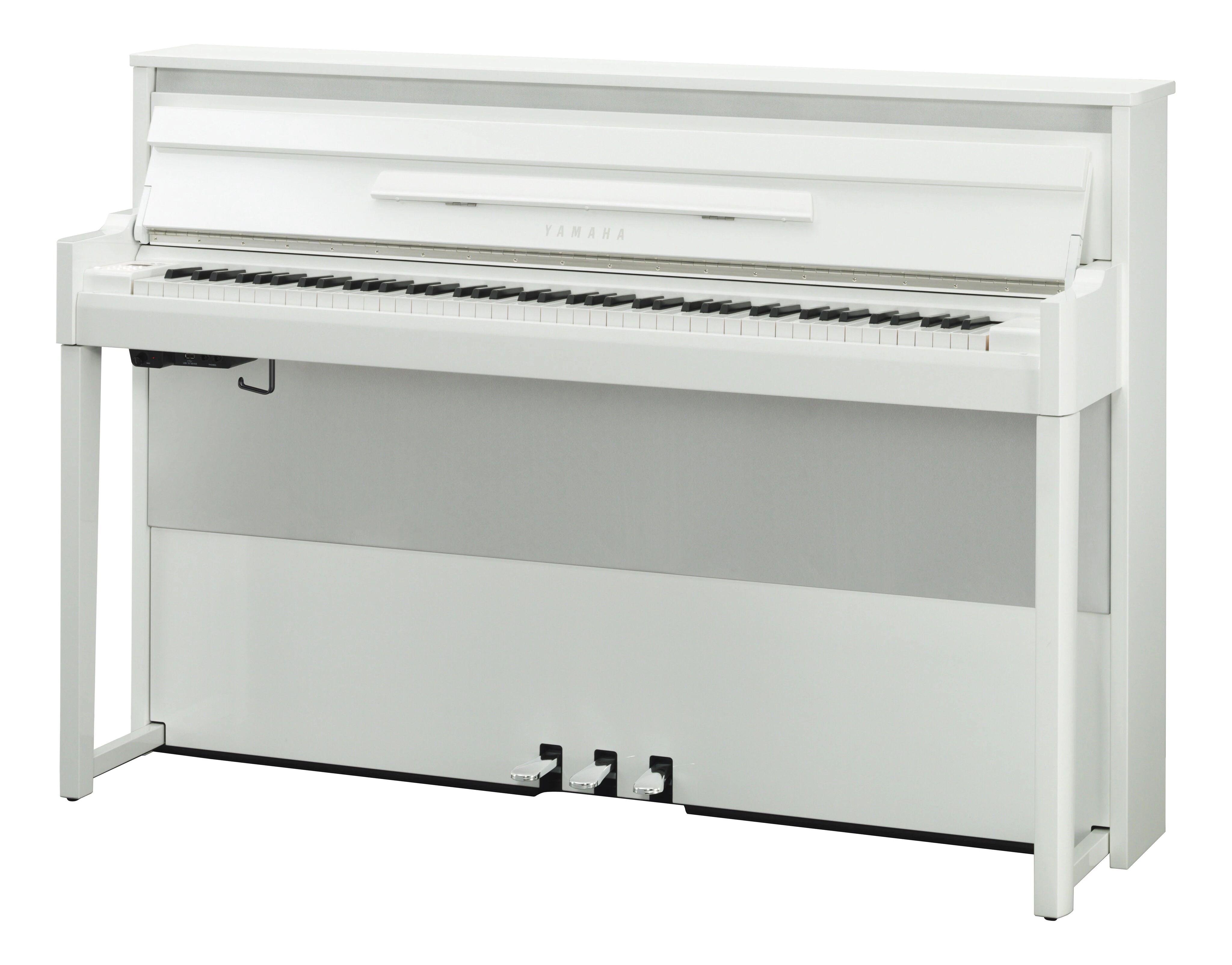 Yamaha Avantgrand Nu-1x Blank Hvid Digital Piano