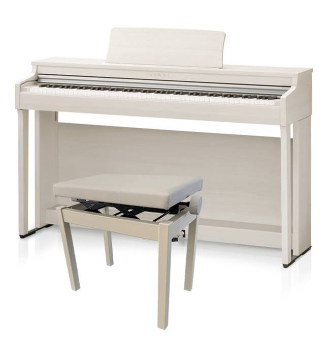 Kawai Cn-29 Hvid Ask Digital Piano M. Bænk
