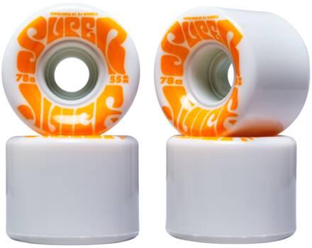 OJ's Skateboard Hjul OJ's Mini Super Juice 78a 4-Pak (55mm - Hvid)