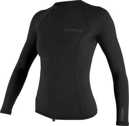 O'Neill Womens Wetsuit O'Neill Thermo-X Short Long Top (Sort)