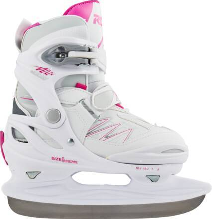 Roces Skøjter Til Piger Roces Moody Ice 2.0 Justerbar (White-fuchsia)