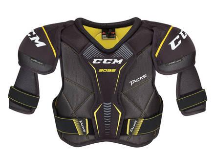 CCM Tacks 3092 Senior Hockey Skulderbeskyttelse (Sort)