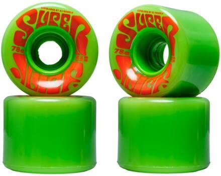 OJ's Skateboard Hjul OJ's Mini Super Juice 78a 4-Pak (55mm - Grøn)
