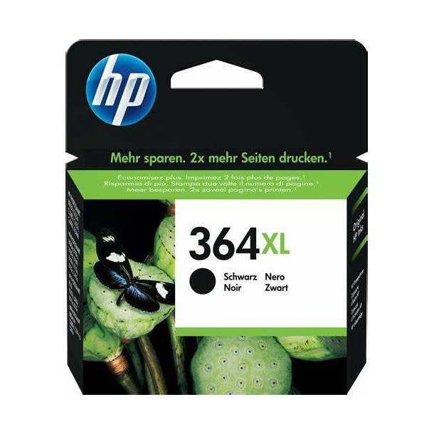 HP 364 XL BK(CB321EE) sort blækpatron, 18ml