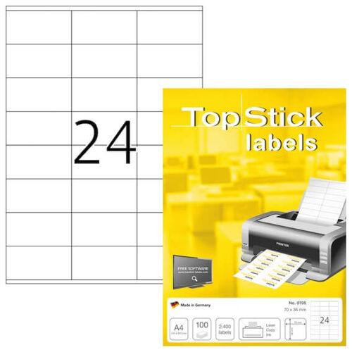 Herma Labels TopStick 70 X 36 mm...