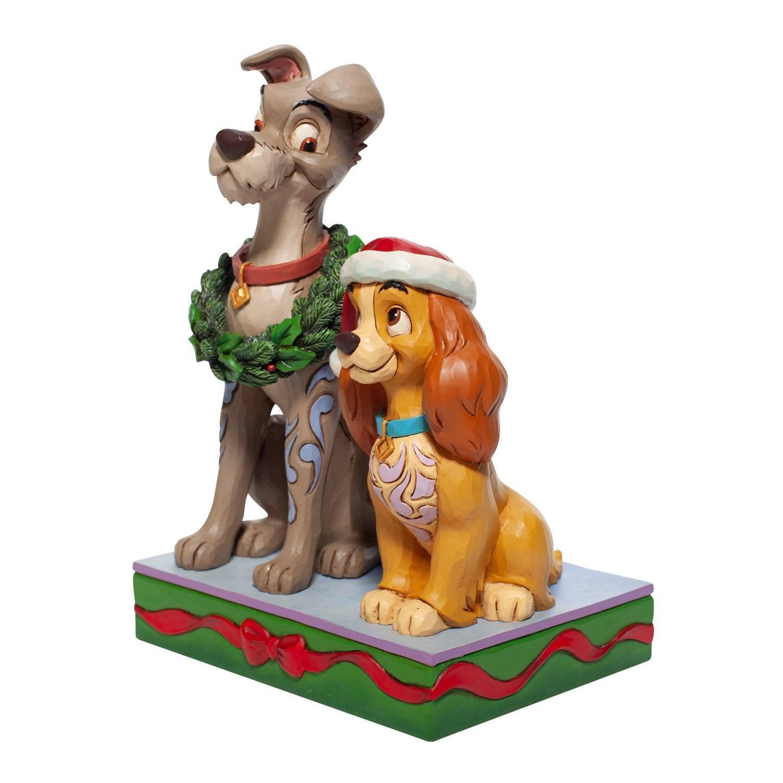 Disney Julefigur - Lady Og Vagabonden