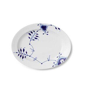 Royal Copenhagen Mega Musselmalet blå fad - 30,5 cm.