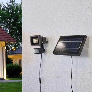 Lindby Solcelle LED væglampe Joelina med separat panel