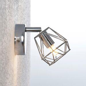 Lindby Giada LED-vægspot med burskærm