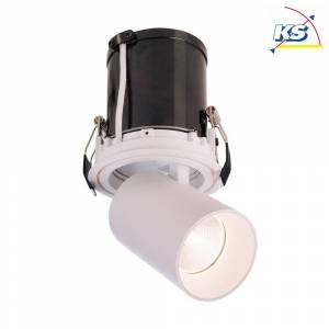 Deko-Light LED Loftindbygningslampe RIGEL MINI ROUND SINGLE, 11W 3000K 700lm 35°