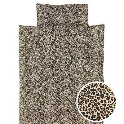 MarMar Sengetøj - Baby - Brun leopardprint - Børnetøj - MarMar