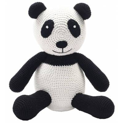 NatureZoo Bamse - Sir Panda - 18 cm - Sort/Hvid - Børnetøj - NatureZoo