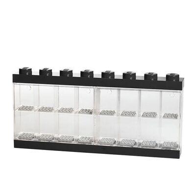 Lego Storage Minifigur Display - 16 rum - 38 cm - Sort - Børnetøj - Lego