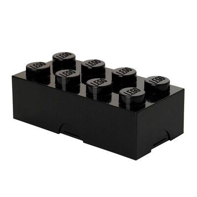 Lego Storage Madkasse - 8 Knopper - Sort - Børnetøj - Lego