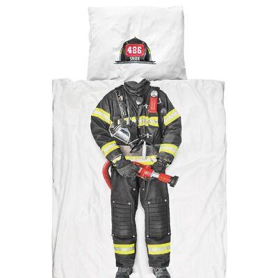 Snurk Sengetøj - Voksen - Brandmand - Børnetøj - SNURK