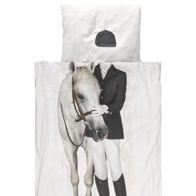 Snurk Sengetøj - Junior - Rytter m. Hest - Børnetøj - SNURK