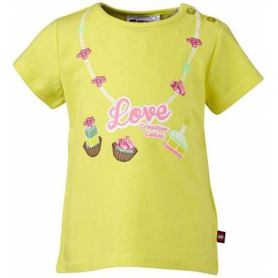 Lego Duplo T-shirt - Gul m. Halskæde - Børnetøj - Lego
