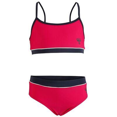 Hummel Bikini - Sofia - UV50+ - Fuchsia - Børnetøj - Hummel