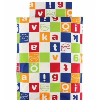 Katvig Classics Sengetøj - Baby - Multifarvet m. Logo - Børnetøj - Katvig
