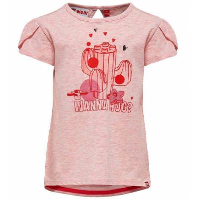 Lego Duplo T-shirt - Rosa m. Kaktus - Børnetøj - Lego