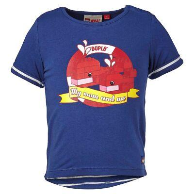 Lego Duplo T-shirt - Mørkeblå m. Print - Børnetøj - Lego