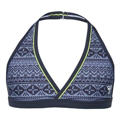 Hummel Bikini Top - UV50+ - Bett - Gråmønstret - Børnetøj - Hummel